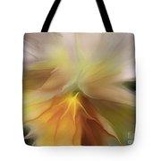 Pansy Art Tote Bag