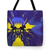 Pansy By Jammer Tote Bag
