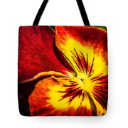 Pansy Flower 5 Tote Bag