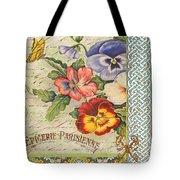 Pansy Garden-b Tote Bag