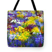 Pansy Party Tote Bag