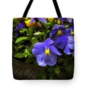 Pansy Planter Tote Bag