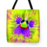 Pansy Power 59 Tote Bag