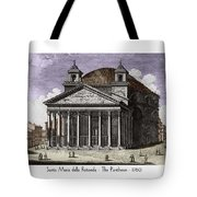 Pantheon Santa Maria Della Rotonda Tote Bag