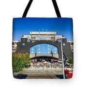 Panthers Stadium Tote Bag