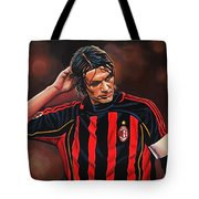 Paolo Maldini Tote Bag by Paul Meijering
