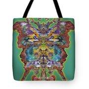 Papalotl Series Vlll Tote Bag