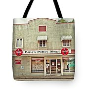 Papa's Poboy Shop Tote Bag