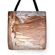 Paper Bark Background Tote Bag