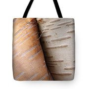 Paper Birch Bark Tote Bag