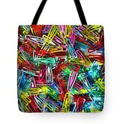 Paper Clips Tote Bag