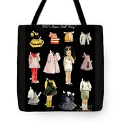 Paper Doll Amy Tote Bag by Marilyn Smith