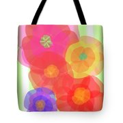 Paper Flowers Tote Bag