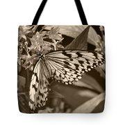 Paper Kite On Frangipani Flowers Tote Bag