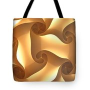 Paper Lantern Abstract Tote Bag