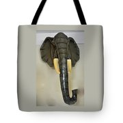 Paper Mache Elephant By Sergio Bustamante Tote Bag