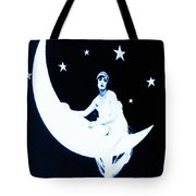 Paper Moon Tote Bag