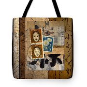 Paper Postage And Paint Tote Bag