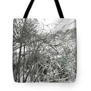 Papyrus Black And White Tote Bag