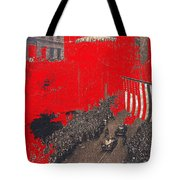 Parade Honoring General Eisenhower On June 29 1945 In New York City Tote Bag