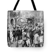 Parade Of Ringling Circus Featuring Tote Bag
