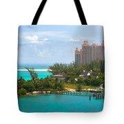 Paradise And Atlantis Tote Bag