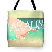 Paradise Awaits Tote Bag