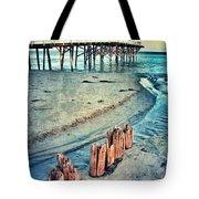 Paradise Cove Pier Tote Bag