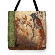 Paradise Flycatcher Tote Bag