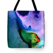 Paradise Found - Colorful Abstract Painting Tote Bag