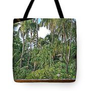 Paradise Patio Tote Bag