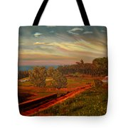Paradise Road Tote Bag