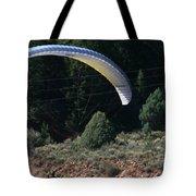 Paragliding Hazards Tote Bag