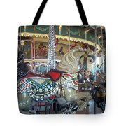 Paragon Carousel Nantasket Beach Tote Bag