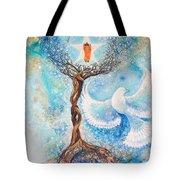 Paramhansa Yogananda - Mist Tote Bag