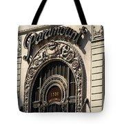 Paramount - Broadway - Nyc Tote Bag