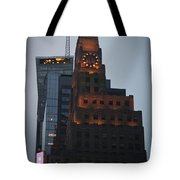 Paramount Building Times Square Tote Bag