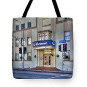 Paramount Movie Studio Hollywood Ca Tote Bag