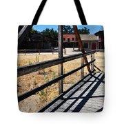 Paramount Ranch Bridge Tote Bag