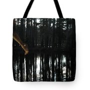 Paranormal Activity Tote Bag by Donna Blackhall