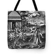 Parasurama, Sixth Avatar Of Vishnu Tote Bag
