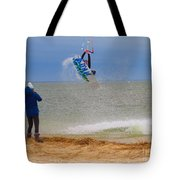 Parasurfer1 Tote Bag by Rrrose Pix