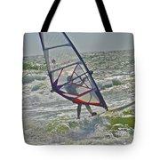 Parasurfing Tote Bag by SC Heffner