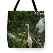 Parents Protecting The Nest Tote Bag
