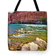 Pariah Riffle Near Lee's Ferry In Glen Canyon National Recreation Area-arizona Tote Bag