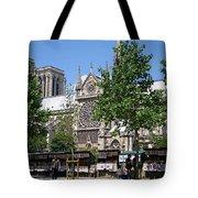 Paris Artist Row Tote Bag