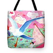 Paris Awaits Tote Bag