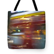 Paris Bus Pont Au Change  Or One Half Step Away From The Hereafter Tote Bag