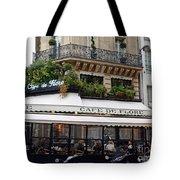 Paris Cafe De Flore - Paris Fine Art Cafe De Flore - Paris Famous Cafes And Street Cafe Scenes Tote Bag