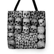 Paris Catacombs Tote Bag